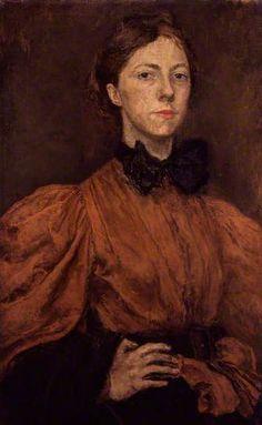 GWEN JOHN (1876-1939)  Self-Portrait (c.1900)