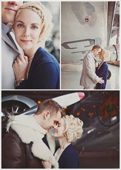 Amazing airplane engagement session, could do regular couples photos too