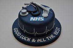 NHS Nurse Cake