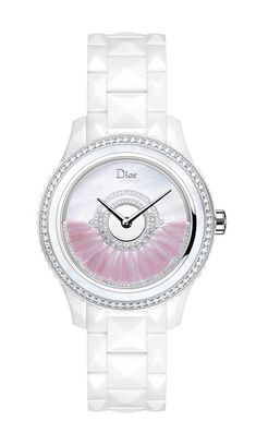 This *has* to be one of the most beautiful watches I have ever seen. To bad I don't have $35k for a timepiece. La montre Dior VIII Grand Bal modèle plumes