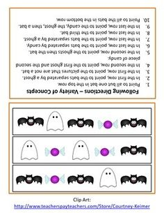 following directions worksheets activities goals and more free language stuff following. Black Bedroom Furniture Sets. Home Design Ideas
