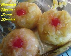 {Paula Deen's} Upside Down Pineapple Biscuits
