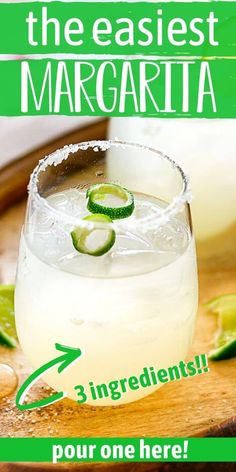 Make this delicious and refreshing Limeade Margarita Recipe right at home with just 3 simple ingredients! Margarita Recipe Frozen Limeade, Limeade Margarita, Limeade Drinks, Skinny Margarita, Margarita Recipes, Margarita Mix, Tequila Drinks, Cocktail Recipes, Party