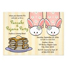 Pancake And Pajama Birthday Party For A Little One Have Kids Wear Pajamas