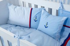 """Die """"Anker""""-Kollektion von KRS-Design bringt eine frische Briese in ihr Kinderzimmer."""