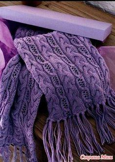 Добрый день, СтранаМамочки!  Хочу поделиться с Вами подборкой наиболее понравившихся мне шарфов, на основе которых можно связать модный, тёплый и удобный в использовании снуд.