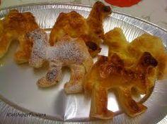 Dolci dell'Epifania: cammelli di pasta sfoglia, tipici del Varesotto
