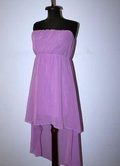 Kup mój przedmiot na #vintedpl http://www.vinted.pl/damska-odziez/inne/15137972-fioletowa-asymetryczna-sukienka-przedluzany-tyl