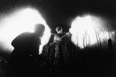 Feb 18, 1945: Sr Sgt Kireyev fires a shot from a German grenade launcher during a night fight in Breslau (Wroclaw)