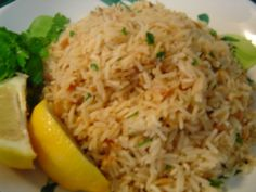 Every September Salt Lake has an amazing Greek Festival. Back in 2001 I got a pamphlet of Greek recipes from the festival. This rice pilaf is very similar to the rice pilaf served at my favorite Greek restaurant. Opa!
