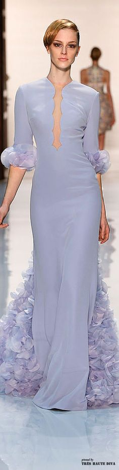 Georges Hobeika Spring 2014 Couture ♔ Runway