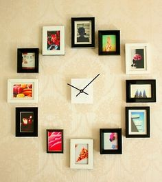 12 Fun and Creative DIY Clock Designs 0 - https://www.facebook.com/diplyofficial