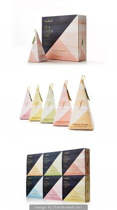 Tea Forté by Studiompls Clever Packaging, Innovative Packaging, Tea Packaging, Food Packaging Design, Beverage Packaging, Packaging Design Inspiration, Brand Packaging, Branding Design, Packaging Boxes