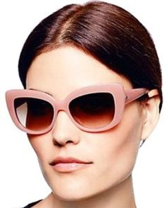 59cb4dda578c Kate Spade Pink Nude Ursula Cat Eye Sunglasses + Case New Condition Ladies