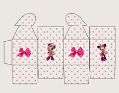 Minnie Pink: Free Printable Box with Heart Closure.