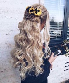 via Unique HairStyles http:& Unique Hairstyles, Pretty Hairstyles, Braided Hairstyles, Hairstyles Haircuts, Rides Front, Tips Belleza, Hair Dos, Gorgeous Hair, Hair Trends