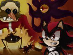 Black Doom vs Shadow | Shadow VS Eggman by ~chobitsG on deviantART