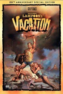 National Lampoon's Vacation Movie Poster 27 X 40 Chevy Chase, B, Licensed Classic 80s Movies, Vintage Movies, Great Movies, Chevy Chase, Christie Brinkley, Comedy Movies, Hindi Movies, Funny Comedy, John Candy