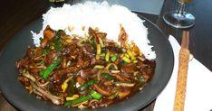 Biff i purjo. Asian Recipes, Beef Recipes, Ethnic Recipes, Food For The Gods, Vegan Meal Prep, Vegan Kitchen, Healthy Diet Recipes, Food Inspiration, Love Food