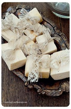 Beautiful simple soap packaging.....
