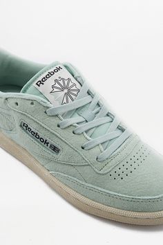 80c5e1041772 Reebok Club C 85 Pastel Mint Trainers