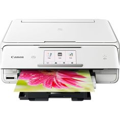 Canon Pixma Wireless All-in-one Printer With Scanner and Copier White for sale online Corel Paint, Satisfying Pictures, Kinds Of Camera, Paper Mobile, Printer Scanner, Wireless Printer, Printer Types, Photo Printer, Paint Shop