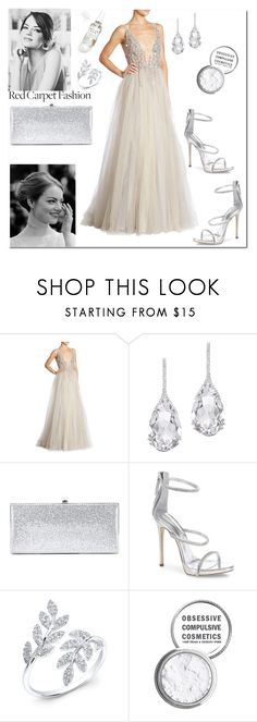 """Emma Stone, Oscars 2017"" by marinelatadic ❤ liked on Polyvore featuring Berta, Plukka, Jimmy Choo, Giuseppe Zanotti, Anne Sisteron, Obsessive Compulsive Cosmetics, Herbivore, RedCarpet, Oscars and polyvorecontest"