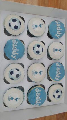 Tottenham fc cupcakes