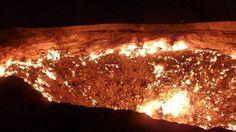 """Door to Hell"" (Darvaza, Turcomenistão)"