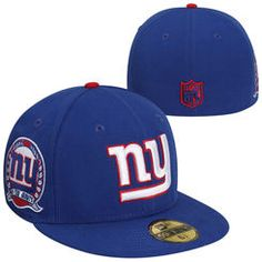 New Era New York Giants 59FIFTY Patched Fitted Hat - Royal Blue