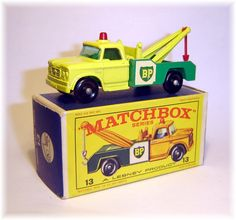 Matchbox BP Dodge wrecker I have been in pursuit of this one for a long time still looking.