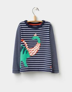 38619779e1 Joules Joules Jack Dino Scarf Applique Top