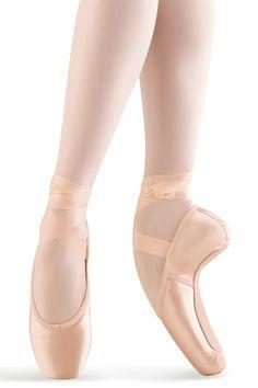 MS140- Mirella Whisper Satin Pointe Shoe - Bloch® US Store