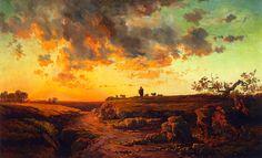 George Inness ~ Tonalist painter   The Hudson River School   Tutt'Art@   Pittura * Scultura * Poesia * Musica  