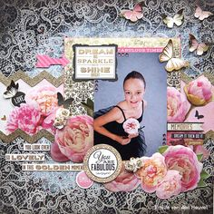 You Are Fabulous {Merly Impressions & Kaisercraft} - Kaisercraft - All That Glitters Collection