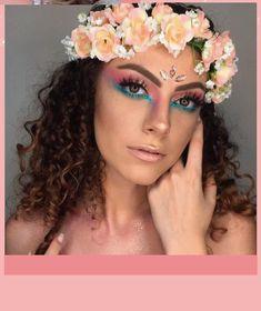 maquiagem para o carnaval,make carnaval,carnaval e muito glitter. Fairy Fantasy Makeup, Fantasy Make Up, Fairy Makeup, Mask Makeup, Costume Makeup, Makeup Geek, Teen Makeup, Make Up Art, How To Make Hair