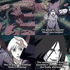 ⠀ HELL YEAH Karin slays That Suikarin moment tho ❤ ⠀ 》Naruto Shippuden ep. 414 ⠀…