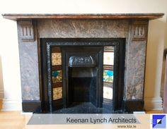 Keenan Lynch Architects' survey reveal the hidden charms of a Dublin townhouse. Lynch, Dublin, Townhouse, Architects, Architecture Design, Charms, Architecture Layout, Terraced House, Building Homes