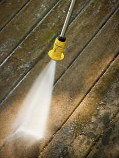 Power Wash the deck and patio!  Not only does it make your house look great... it will give you a real sense of accomplishment.