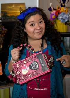 "Raini Rodriguez of ""Austin & Ally"" with The Write Stuff Design."