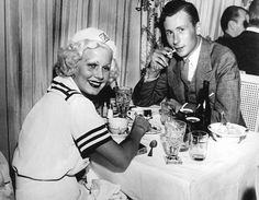 Jean Harlow & Possibly Her Cousin At Trocadero Cafe Nightclub