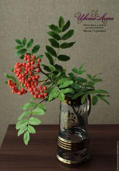 Diy Flowers, Glass Vase, Berries, Kestrel, Leaves, Crafts, Cover, Home Decor, Flowers