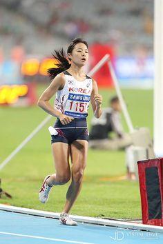 '2014 인천아시안게임'-육상 여자 10000m 결승전 [포토뉴스] #athletic / #Infographic ⓒ 비주얼다이브 무단 복사·전재·재배포 금지