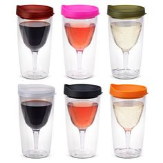 Portable wine sippy cup  - one of our very favorite summer wine accessories.