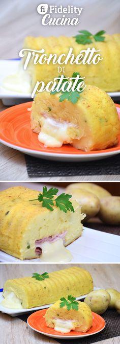 Il tronchetto di patate saprà stupire i vostri ospiti per il suo aspetto ma soprattutto per il suo sapore intenso ed avvolgente. Ecco la ricetta
