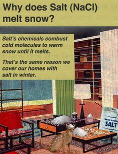 Why Does Salt Melt Snow?