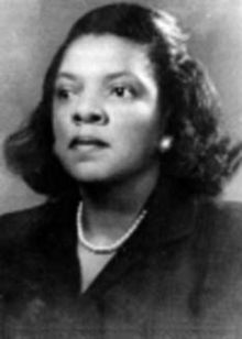 Marjorie Lee Browne was born on this day in 1914. She was one of the first black women to receive a doctorate in mathematics in the U.S. Despite the discrimination against both blacks and women in the world of mathematics, Browne earned fellowships to Cambridge, Columbia and UCLA. In her later life, she used her own money to help disadvantaged students continue their education in math.