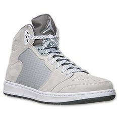 Men\u0026#39;s Jordan Prime 5 Basketball Shoes | FinishLine.com | Wolf Grey/White/
