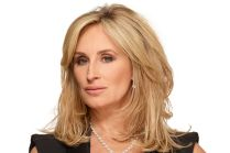 She's nuts, but she has good hair!   Sonja Morgan hair style
