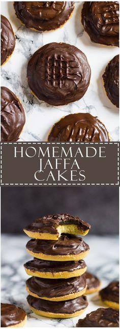 Homemade Jaffa Cakes | Marsha's Baking Addiction